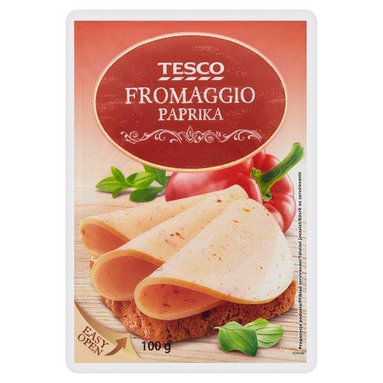 Tesco Smetanový sýr s paprikou plátky 100g