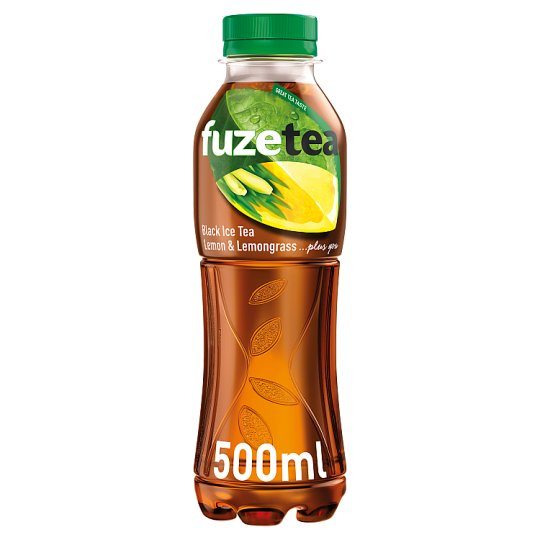 FuzeTea Lemon Lemongrass černý ledový čaj 500ml