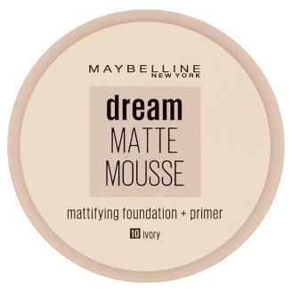 Maybelline New York Dream Matte Mousse matující make-up v lehké pěně SPF 15 10 Ivory 18ml