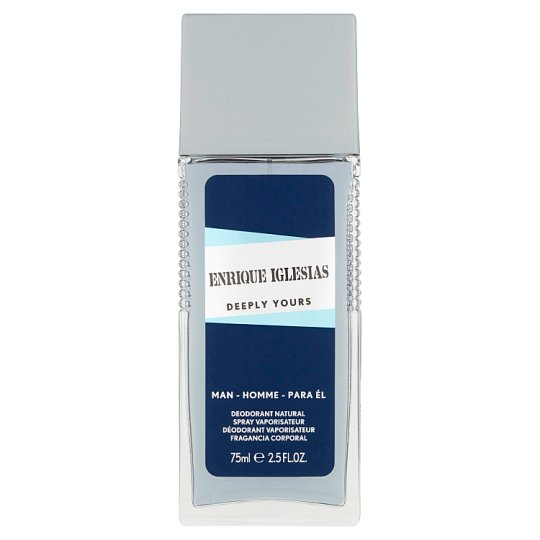 Enrique Iglesias Deeply Yours deodorant natural sprej 75ml