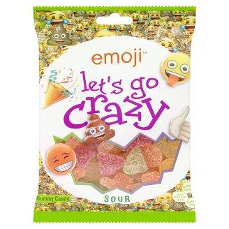 Emoji Let's Go Crazy želé bonbony 175g