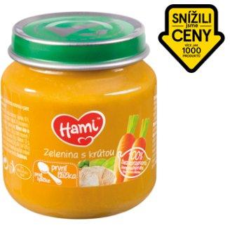 Hami masozeleninový příkrm Zelenina s krůtou první lžička 125g