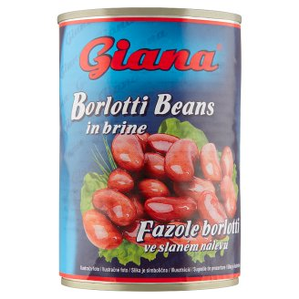 Giana Borlotti Beans in Brine 400g
