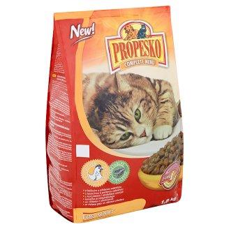 Propesko Kompletní krmivo pro dospělé kočky s kuřecím a přidanou zeleninou 1,8kg