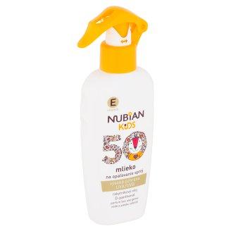 Nubian Kids Dětské mléko na opalování sprej SPF 50 200ml