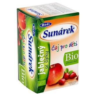 Sunárek Bio čaj pro děti jablečný se šípky 20 x 1,5g