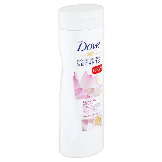Dove Rozjasňující Rituál tělové mléko s extraktem z lotosového květu a rýžovou vodou 400ml