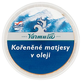 Varmuža Spicy Herring in Oil 200g