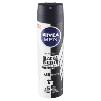 Nivea Men Invisible Black & White Original Antiperspirant Spray 150ml