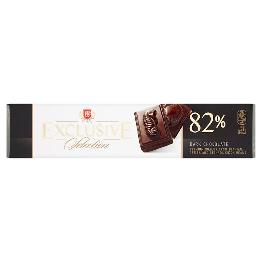 Taitau Exclusive Selection Hořká čokoláda 82% 50g