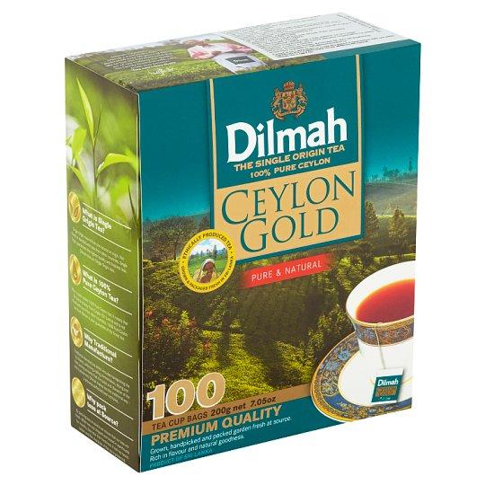 Dilmah Ceylon Gold Black Tea 100 x 2g