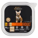 Tesco Pet Specialist Premium Adult Pate with Chicken, Liver and Rice 100g