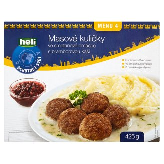 Heli Meatballs in Cream Sauce with Mashed Potatoes 425g