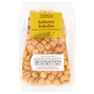 Tesco Roasted Corn with Barbecue Flavor 150g