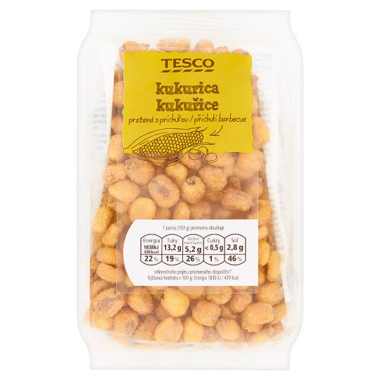 Tesco Roasted Corn with Barbecue Flavour 150g