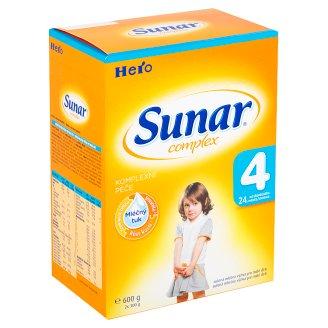 Sunar Complex 4 sušená mléčná výživa pro malé děti 2 x 300g
