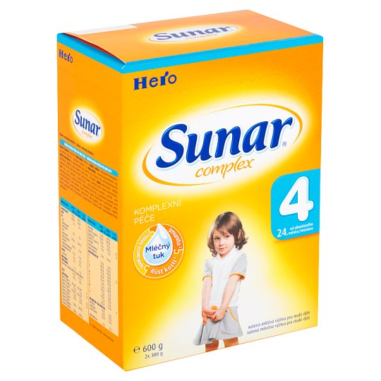 Sunar Complex 4 Dried Milk Nutrition for Babies 2 x 300g