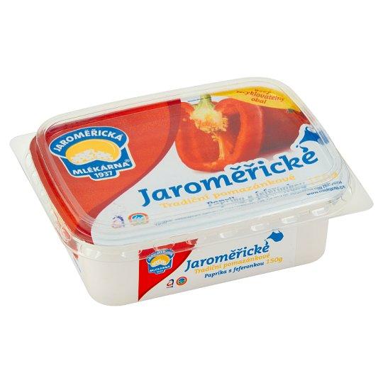 Jaroměřická Mlékárna Tradiční pomazánkové s paprikou a feferonkou 150g