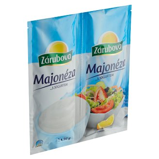 Zárubova Mayonnaise with Yogurt 2 x 50g