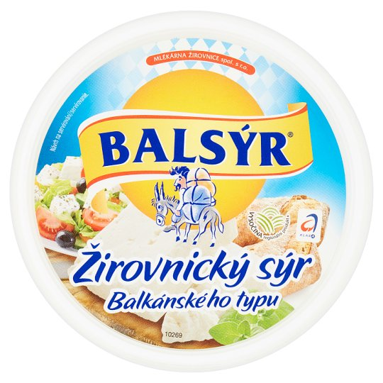 Balsýr Žirovnický sýr balkánského typu 250g