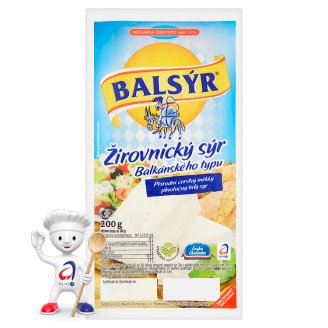 Balsýr Žirovnický sýr balkánského typu 200g