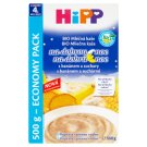 HiPP Organic Milk Porridge Goodnight with Banana and Biscuits from the Finished 4 Months 2 x 250g