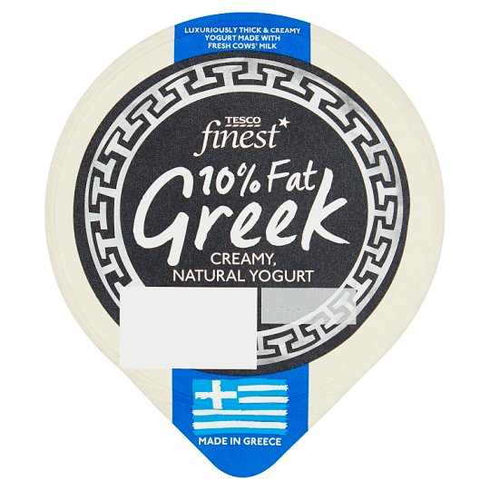 Tesco Finest Greek Creamy Natural Yogurt 10 % Fat 150g