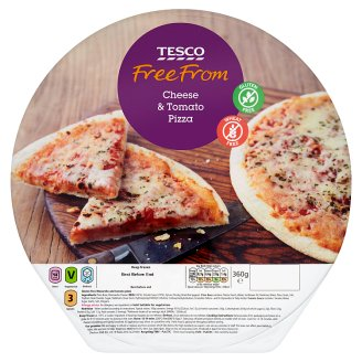 Tesco Free From pizza s mozzarellou bez lepku 360g