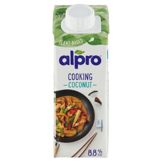 alpro cuisine coconut 250ml tesco groceries