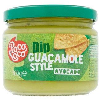 Poco Loco Dip Guacamole Style Avocado 300g