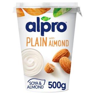 Alpro Sójový výrobek zakysaný s jogurtovou kulturou s mandlemi 500g