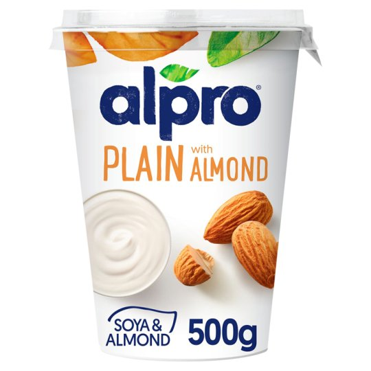 Alpro Soya & Almond with Youghurt Cultures 500g