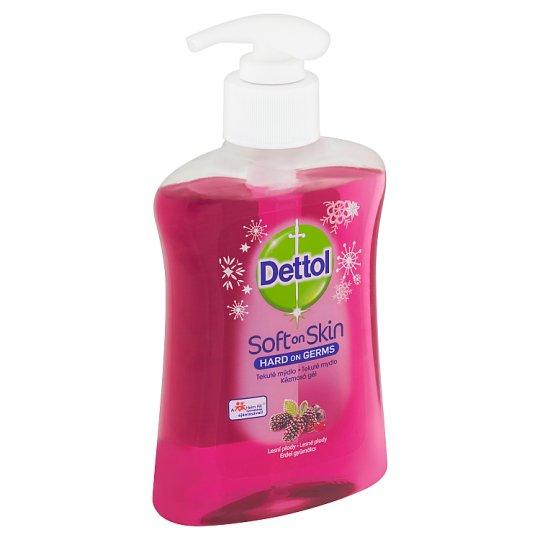Dettol Soft on Skin Tekuté mýdlo lesní plody 250ml