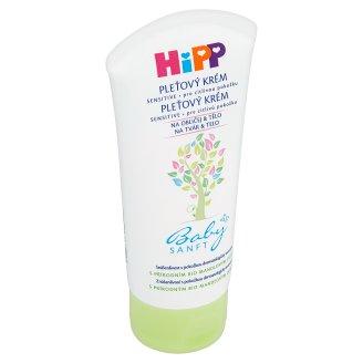 HiPP Babysanft Pleťový krém s přírodním bio mandlovým olejem pro citlivou pokožku 75ml