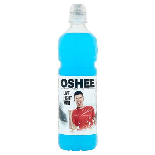 Oshee Multifruit Flavour Isotonic Non-Carbonated Drink 0.75L