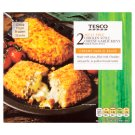 Tesco Chicken Style Cheesy Garlic Kievs Made with Soya 2 pcs 250g