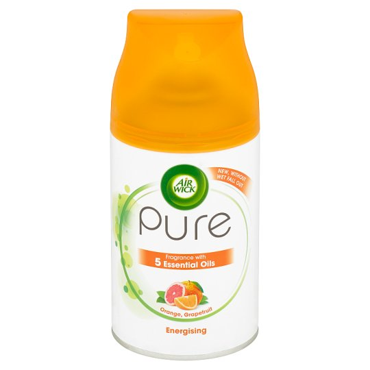 Air Wick Freshmatic Pure náplň do osvěžovače vzduchu pomeranč a grapefruit 250ml