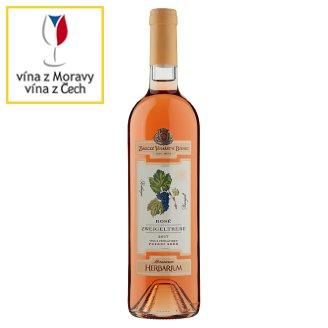 Zámecké Vinařství Bzenec Rosé Zweigeltrebe Wine with Attribute Late Harvest 75cl