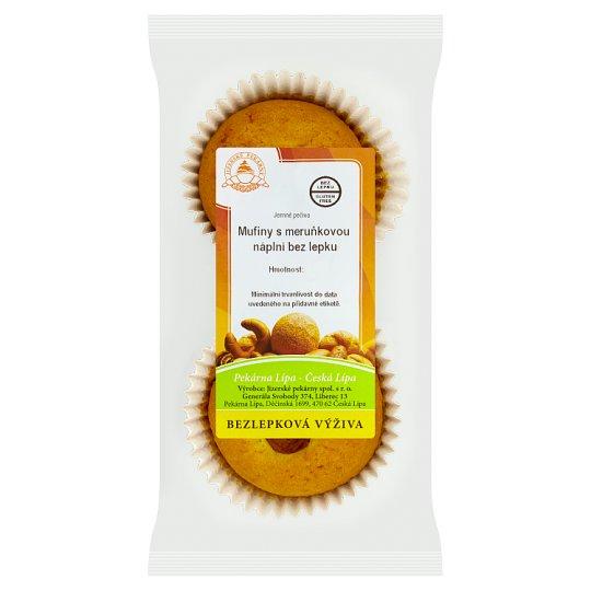 Jizerské Pekárny Muffins with Apricot Filling Gluten Free 120g