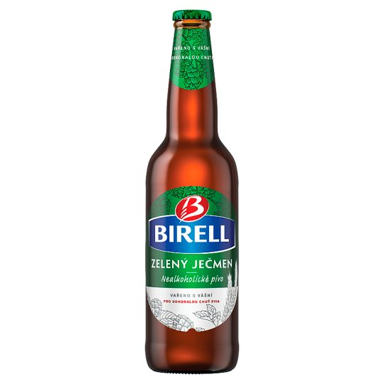 Birell Green Barley Non-alcoholic Beer 0.5L