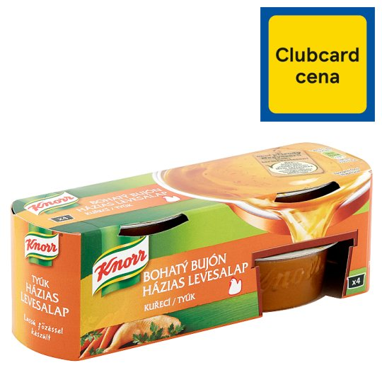 Knorr Bohatý Bujón Kuřecí 4 x 28g