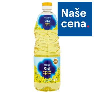 Tesco Olej řepkový 1l