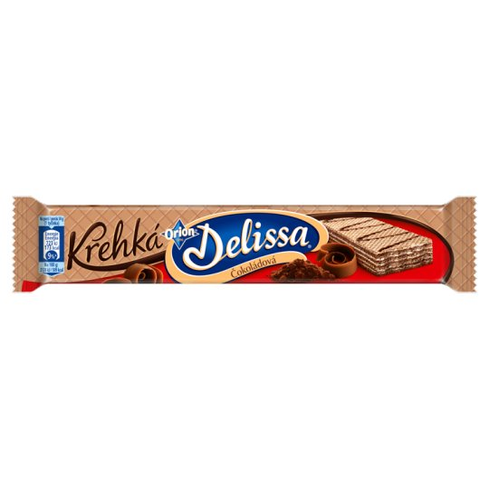 ORION Delissa Fragile Cocoa Wafer with Cocoa Filling 34g