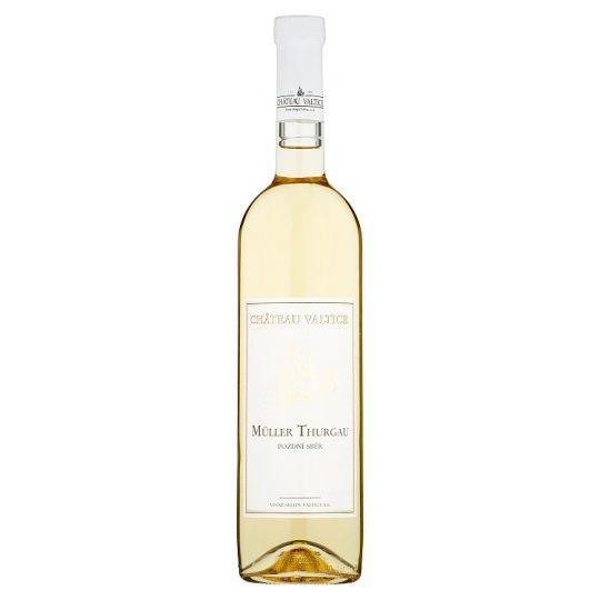 Château Valtice Müller Thurgau pozdní sběr víno s přívlastkem suché 0,75l