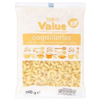 Tesco Value Kolínka bezvaječné těstoviny 500g