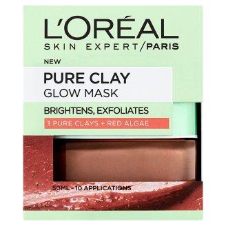 L'Oréal Paris Skin Expert Pure Clay exfoliační maska 50ml