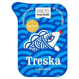Ryba Žilina Preto Treska v majonéze 400g
