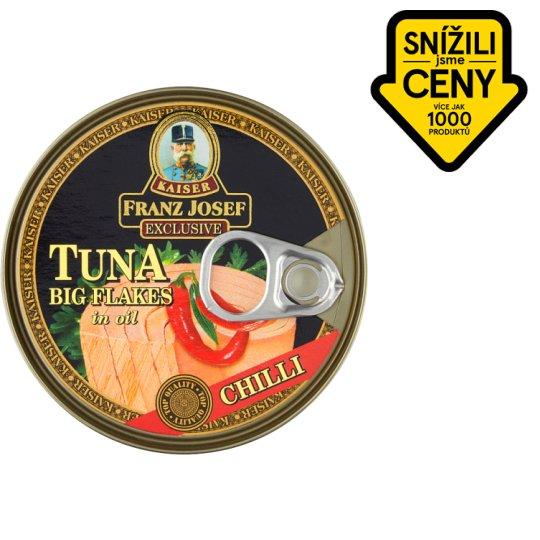 Kaiser Franz Josef Exclusive Tuňák kousky v rostlinném oleji s chilli 170g
