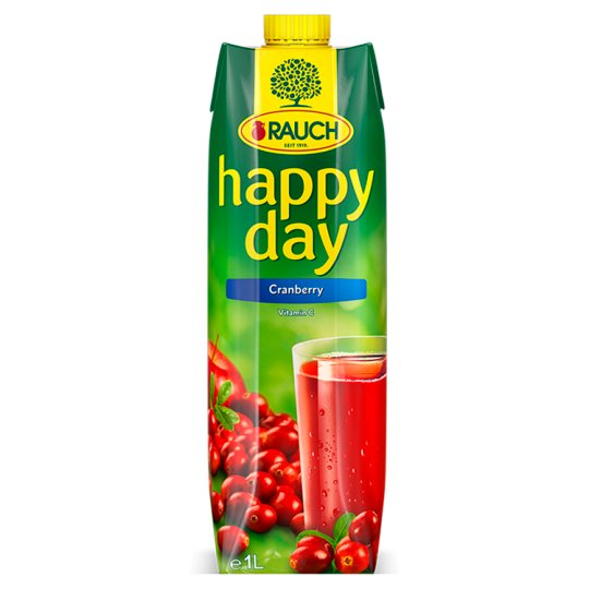 Rauch Happy Day Brusinkový nápoj 1l