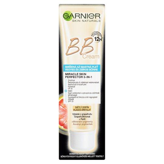 image 1 of Garnier Skin Naturals BB Cream Miracle Skin Perfector 5in1 Light Shade 40ml